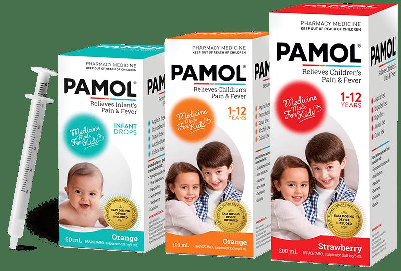 Pamol Product Range