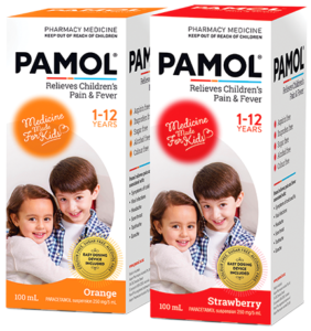 Pamol 100ml Convenience Pack